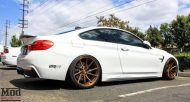 BMW F32 435i Stance Wheels Lip Exh Coils Spoiler White 2 190x102 BMW F32 435i mit Stance Wheels by ModBargains