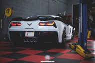 Chevrolet Corvette Z06 on HRE P101 By HRE Wheels 04 190x127 21 Zoll HRE P101 Alu's auf der Chevrolet Corvette Z06