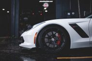 Chevrolet Corvette Z06 on HRE P101 By HRE Wheels 06 190x127 21 Zoll HRE P101 Alu's auf der Chevrolet Corvette Z06
