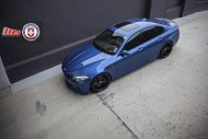 Clean Looking Monte Carlo Blue BMW F10 M3 On HRE Wheels 3 190x127 Wheels Boutique tunt den BMW M5 F10 mit 21 HRE Alu's