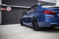 Clean Looking Monte Carlo Blue BMW F10 M3 On HRE Wheels 4 190x127 Wheels Boutique tunt den BMW M5 F10 mit 21 HRE Alu's