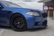 Clean Looking Monte Carlo Blue BMW F10 M3 On HRE Wheels 6 190x127 Wheels Boutique tunt den BMW M5 F10 mit 21 HRE Alu's