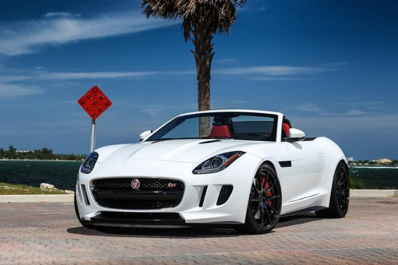 Exclusive Motoring Jaguar F Type On ADV.1 Wheels 1 Jaguar F Type mit 20 Zoll Alu´s bei Exclusive Motoring