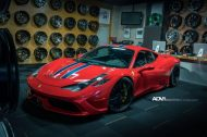 Ferrari 458 Speciale On ADV05 MV2 CS By ADV.1 Wheels 1 190x126 ADV.1 Wheels ADV05 am Ferrari 458 Speciale