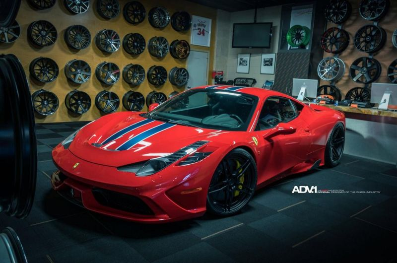 Ferrari 458 Speciale On ADV05 MV2 CS By ADV.1 Wheels 1 ADV.1 Wheels ADV05 am Ferrari 458 Speciale
