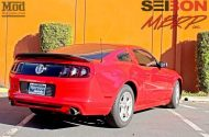 Ford Mustang S197 MBRP Exhaust MGP Calipers Seibon TS 1 190x125 Ford Mustang S197   Tuning by ModBargains