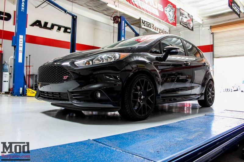 Ford Fiesta ST StopTech Rotors Mountune RMM kyle 1 ModBargains   Tuning Ford Fiesta ST mit Stoptech Bremsen