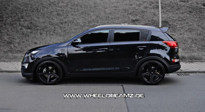 kia sportage tuning wheeldreamz magazin. Black Bedroom Furniture Sets. Home Design Ideas