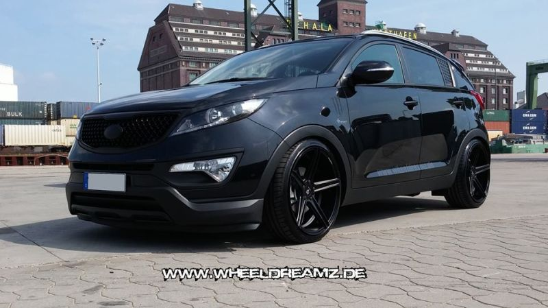 wheeldreamz tunt den kia sportage mit kv1 felgen. Black Bedroom Furniture Sets. Home Design Ideas