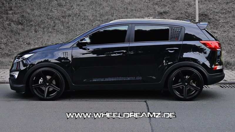 kia sportage wheeldreamz tuning car 4. Black Bedroom Furniture Sets. Home Design Ideas