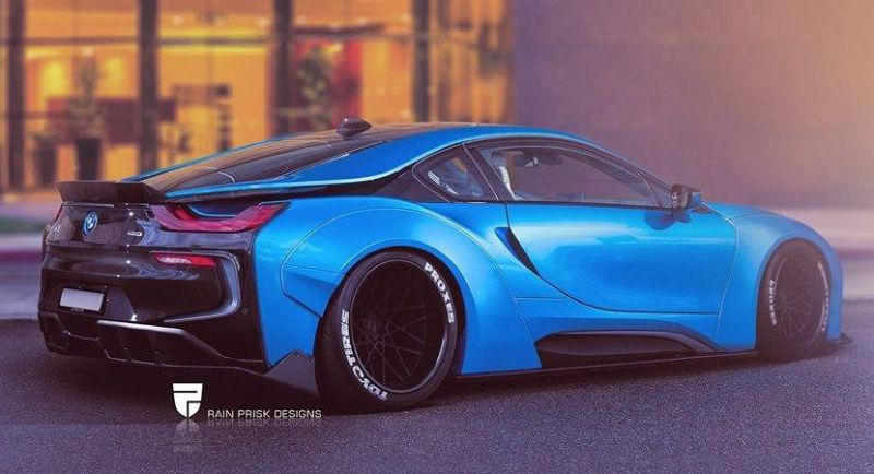 Rendering Liberty Walk Widebody Bmw I8 Tuningblog Eu Magazine