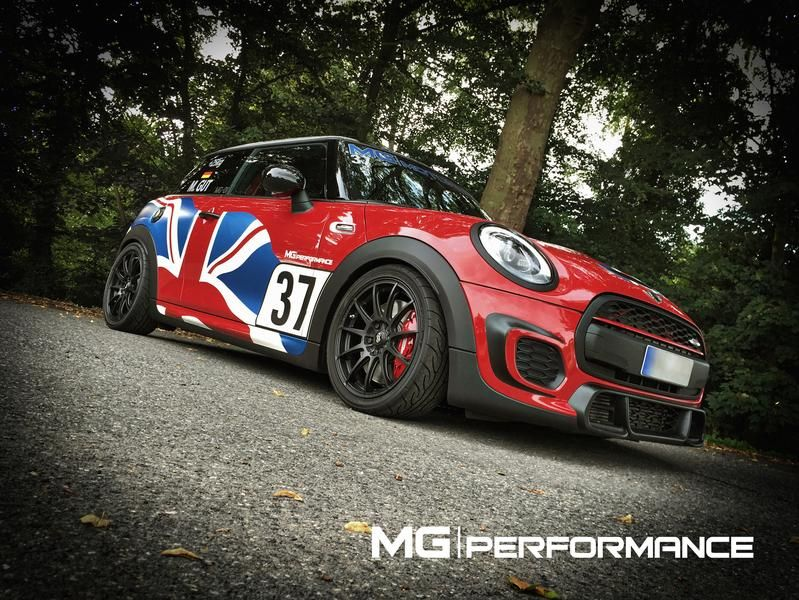 MG Performance MINI John Cooper Works 1 Video: MG Performance MINI JCW F56   289km/h schnell