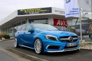 Mercedes A Klasse Extreme Customs Germany Vossen VLE1 Tuning 1 190x127 Mercedes A Klasse vom Tuner Extreme Customs