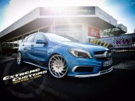 Mercedes A Klasse Extreme Customs Germany Vossen VLE1 Tuning 3 190x143 Mercedes A Klasse vom Tuner Extreme Customs