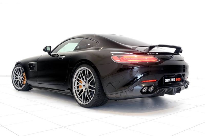 Mercedes-AMG GT S 600PS Brabus Chiptuning 4