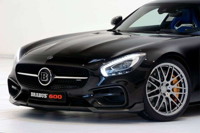 Mercedes-AMG GT S 600PS Brabus Chiptuning 7