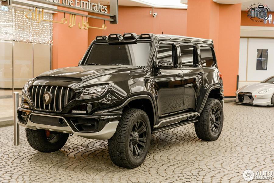 Mercedes G63 AMG Ares X Raid tuning 7 1 Vision   ARES Performance Mercedes G63 AMG Concept