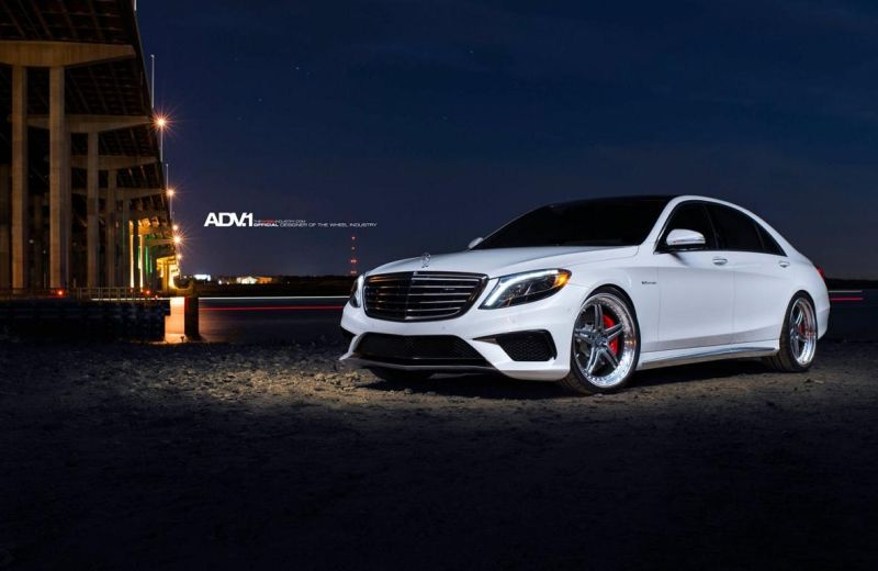 Mercedes S63 On ADV05 Track Function SL By ADV.1 Wheels 1 22 Zoll ADV.1 Wheels ADV05 am Mercedes S63 AMG