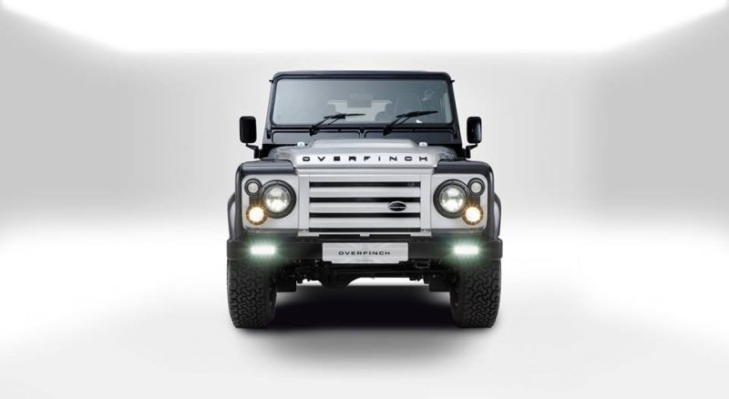 Overfinch Land Rover Defender 40th 1 Land Rover Defender 40th Anniversary von Overfinch