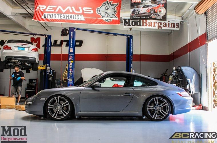 Porsche 997 Carrera on BC Coilovers 1 Porsche 997 Carrera   Tuning by ModBargains