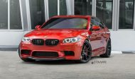 Strasse Wheels 780whp BMW F10 M5 21  SM5R Deep Concave Monoblock Wheels 2 190x112 21 Zoll Strasse Wheels SM5R am BMW M5 F10 in Rot