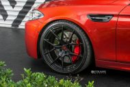 Strasse Wheels 780whp BMW F10 M5 21  SM5R Deep Concave Monoblock Wheels 5 190x127 21 Zoll Strasse Wheels SM5R am BMW M5 F10 in Rot