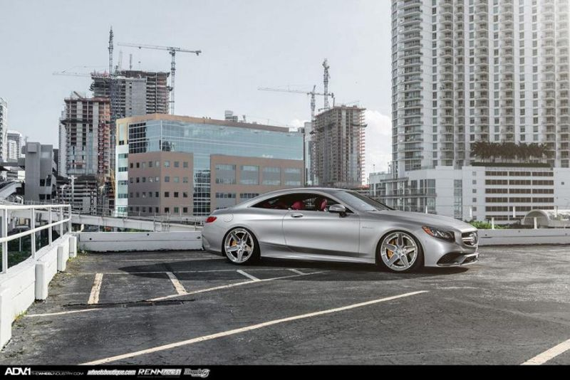 adv1 wheels mercedes benz s63 amg coupe adv5stscs 22 2 Renntech Mercedes Benz S63 AMG Coupe auf 22 Zoll ADV.1 Wheels