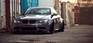 bmw m3 libtery walk lb performance title 1 190x89 BMW E92 M3 mit Liberty Walk Bodykit & Rotiform's