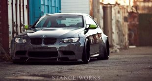 bmw m3 liberty walk lb performance 1 310x165 BMW E92 M3 with Liberty Walk Bodykit & Rotiform's