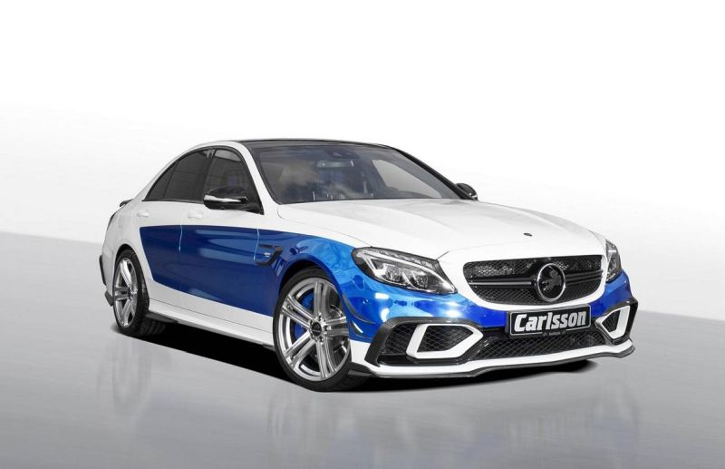 carlsson mercedes amg c63 s tuning 1 Volles Programm   Carlsson Mercedes AMG C63 S Rivage