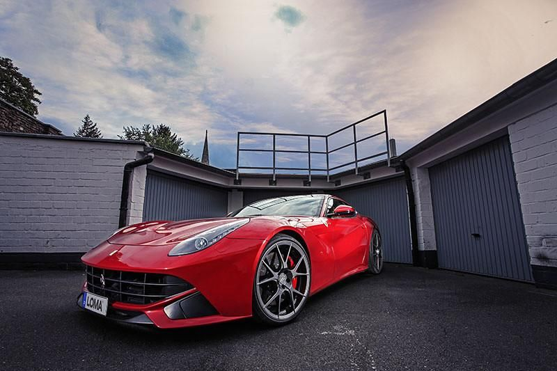loma ferrari f12 1 tuning wheels 1 22 Zoll Loma Wheels am Ferrari F12 Berlinetta