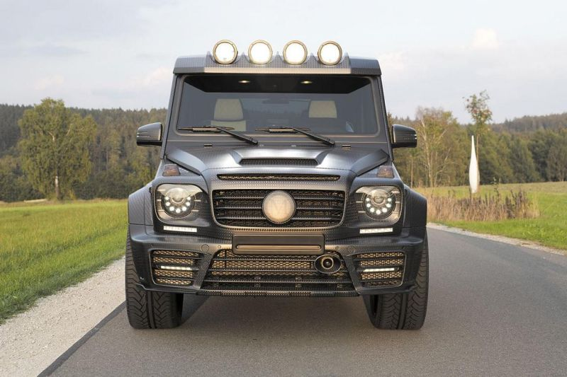 mansory gronos tuning new 1 Mansory Gronos G63 AMG Black Edition mit 828PS