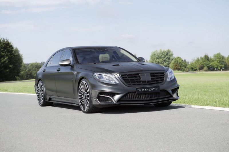 mansory mercedes benz s63 amg black edition 1 Mercedes Benz S63 AMG Black Edition by Mansory