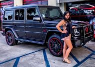 modern family actress ariel winter goes custom on her g wagon 1 190x135 West Coast Customs Mercedes G63 AMG für Ariel Winter
