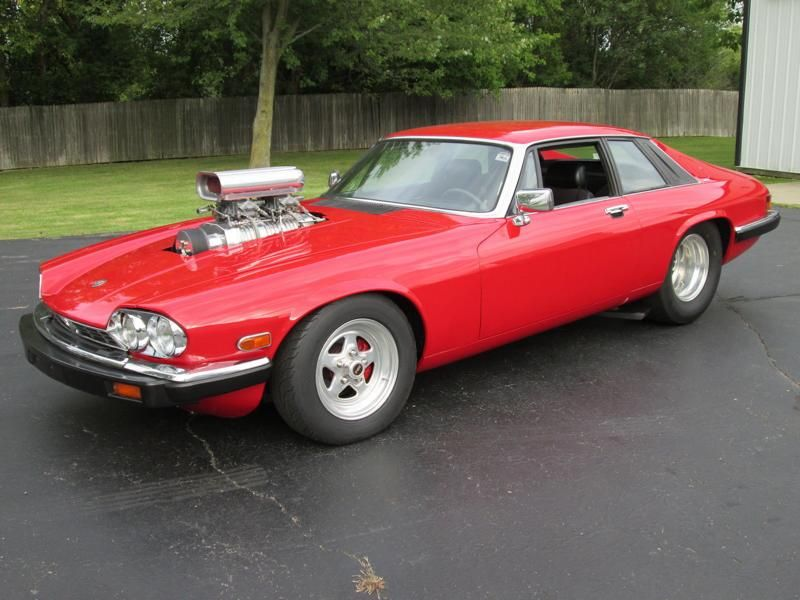 pro street jaguar xjs is street legal powered by 1 zu verkaufen: Pro Street Jaguar XJS mit Chevy V8 Big Block