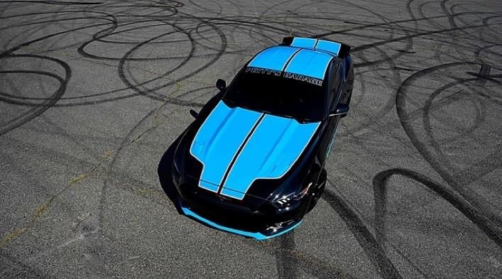 richard pettys shop customized this 2015 ford 5 Petty's Garage   2015er Ford Mustang GT Verlosung