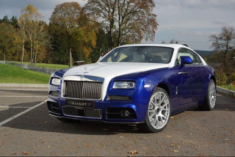 rolls royce wraith by mansory tuning 1 Rolls Royce Wraith   Carbon Bodykit von Mansory