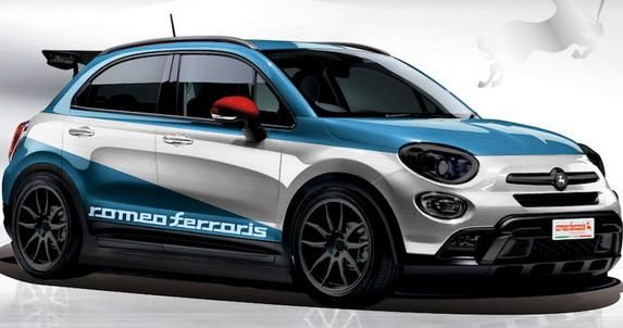 fiat 500x crossover tuning by romeo ferraris. Black Bedroom Furniture Sets. Home Design Ideas