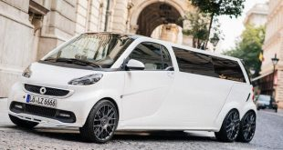 smart fortwo gets the stretch treatment becomes 1 310x165 Was ist eine Stretch Limousine / Chauffeurslimousine?
