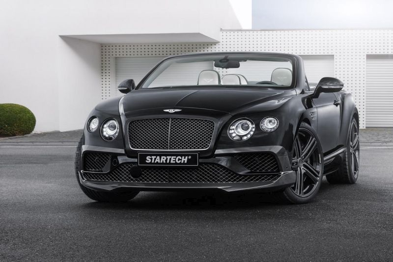 st15aa115 STARTECH   Bodykit & Alu's am Bentley Continental