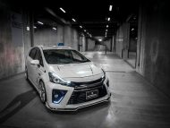 toyota prius g s tuned by rowen looks and sounds gallery 1 190x143 Toyota Prius CX   Bodykit von Rowen International