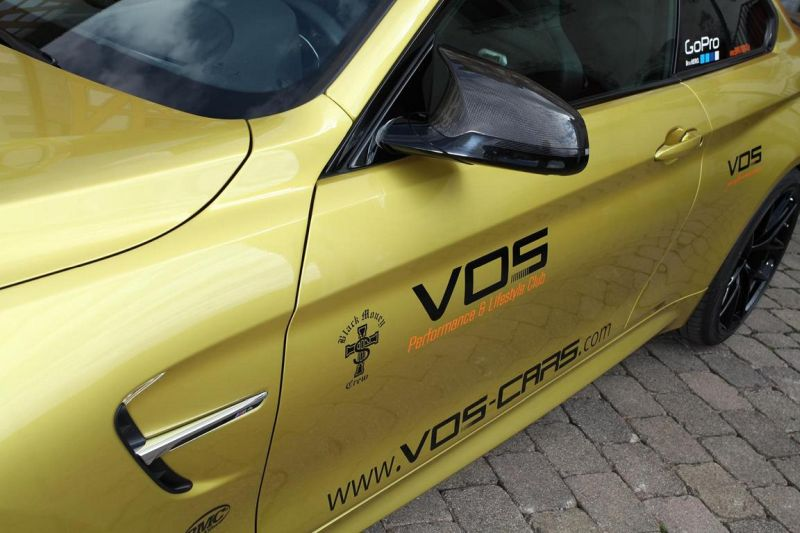 vos reveals its complete package for the bmw m4 1 BMW M4 F82 mit 550PS vom Tuner VOS Cars