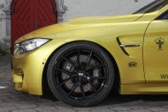 vos reveals its complete package for the bmw m4 2 190x127 BMW M4 F82 mit 550PS vom Tuner VOS Cars