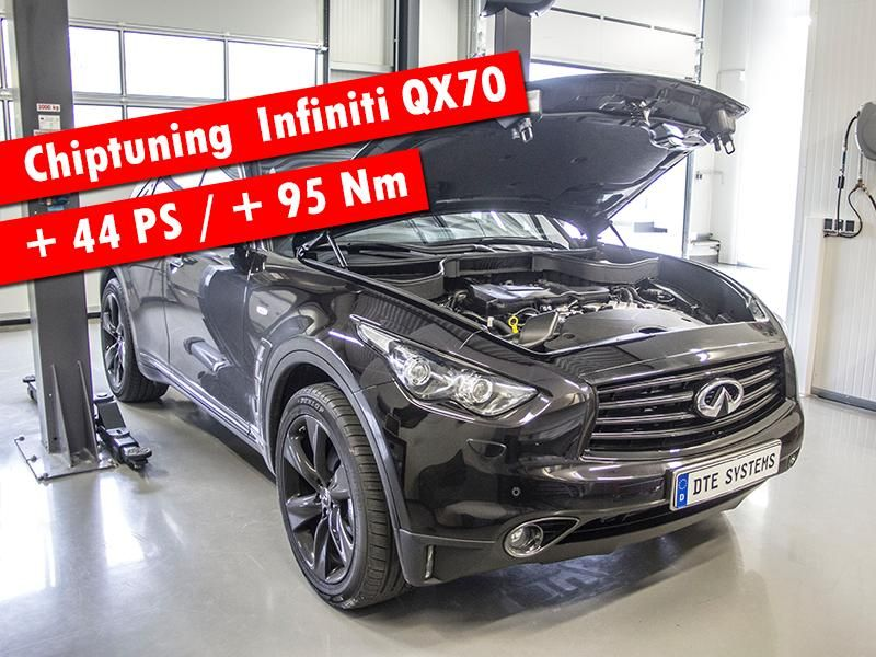 10006963 955932704461048 7140973066066651852 n 44PS & 95NM mehr im Infiniti QX70 by DTE Systems GmbH