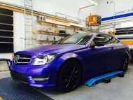 11050165 899517630102081 6990467057607795765 o 190x143 Mystique Blue Folierung am Mercedes Benz C Coupe