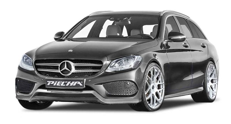 12052483 1915780871980616 5437845119698326450 o Bodykit & Alu's by Piecha Design   Mercedes C Klasse W205