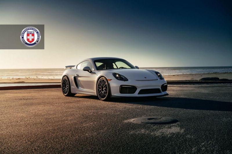 12087198 10153605381826698 11408180997277563 o HRE RC100 Alufelgen in Schwarz am Porsche Cayman