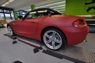 12087681 1047829245251124 5844092130515111429 o 190x126 Mattroter BMW Z4 3.5 Si by Print Tech Premium Wrapping