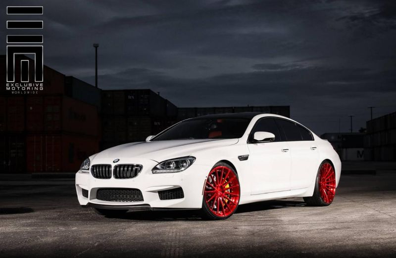 12087942 1033795820017185 3508307878564928273 o Candyrote 22 Zoll ADV.1 Wheels am BMW M6 Gran Coupe