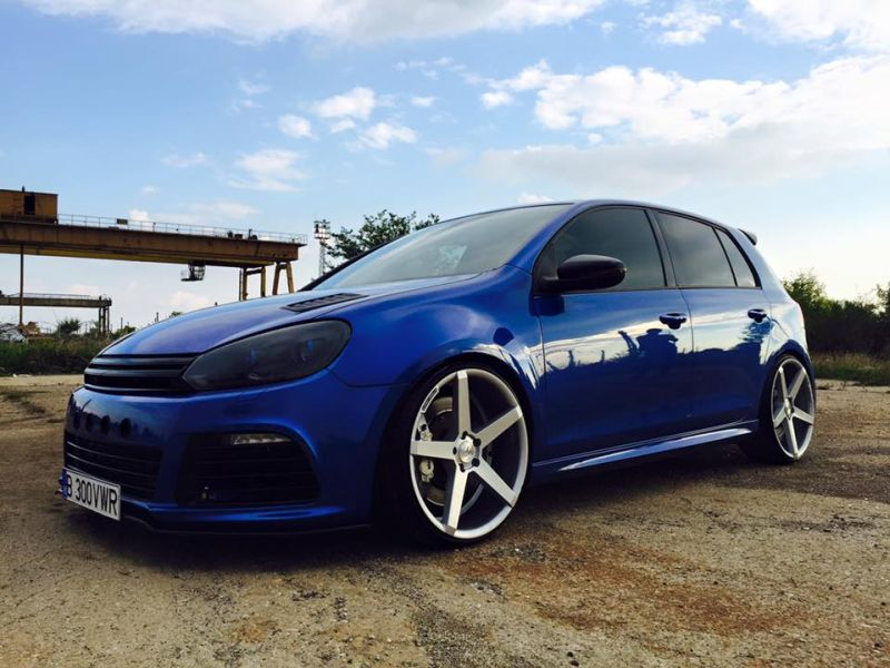 800ps und 20 zoll z performance wheels am vw golf 6 r der tuning und styling blog. Black Bedroom Furniture Sets. Home Design Ideas